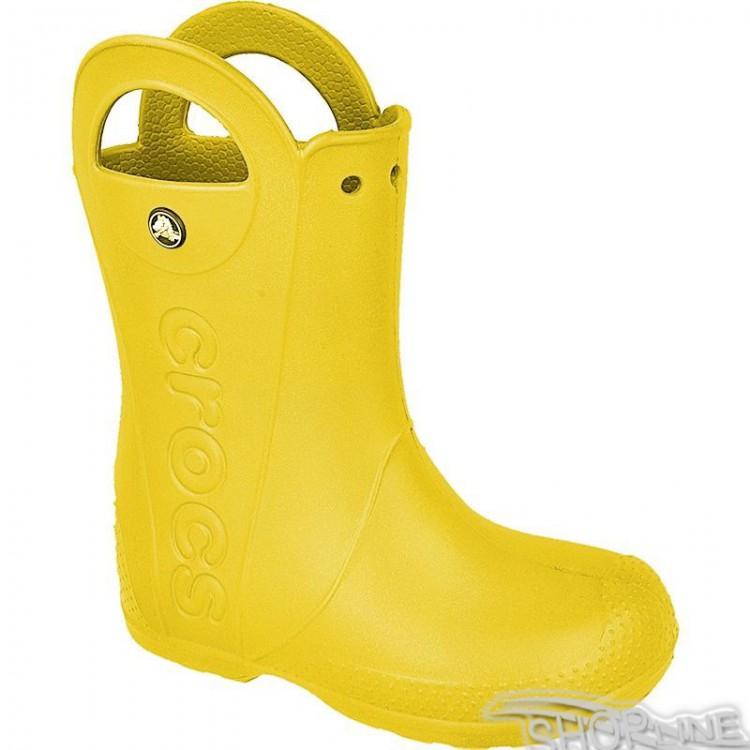 Gumáky Crocs Handle It Kids - 12803-YELLOW