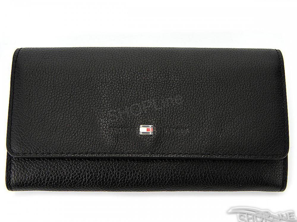 Peňaženka Tommy Hilfiger Basic Leather Large Ew Wallet - AW0AW03587002