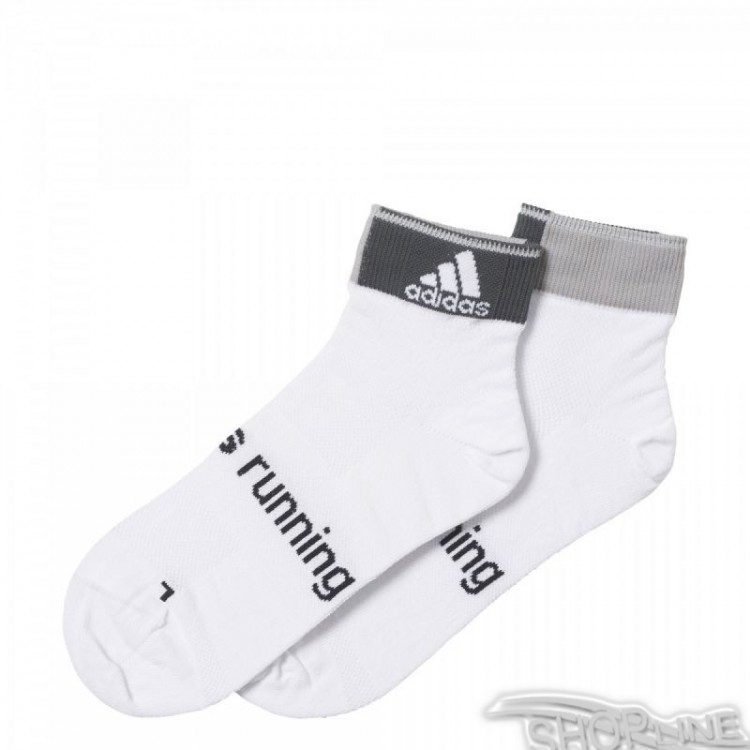 Ponožky Adidas Running Light Ankle Thin 2p - AA2260