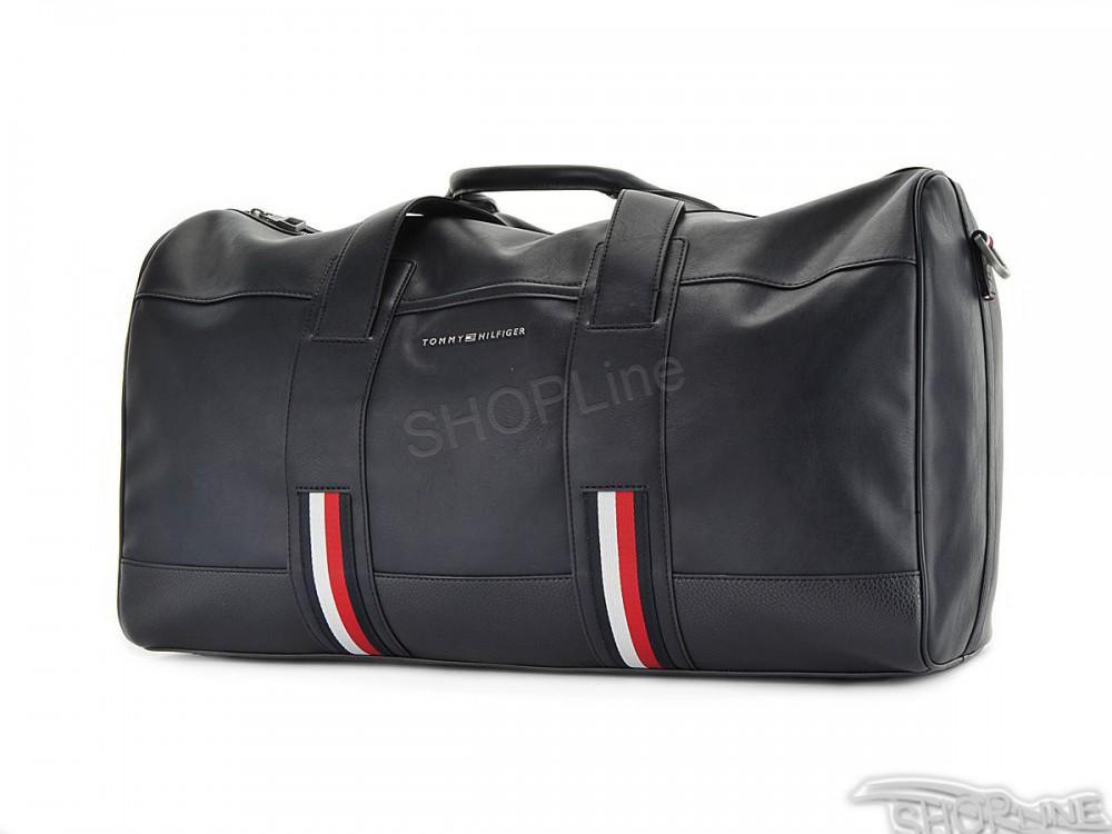 43401b792d346 Taška Tommy Hilfiger Novelty Stripe Duffle - AM0AM01870901 | Topkey.sk