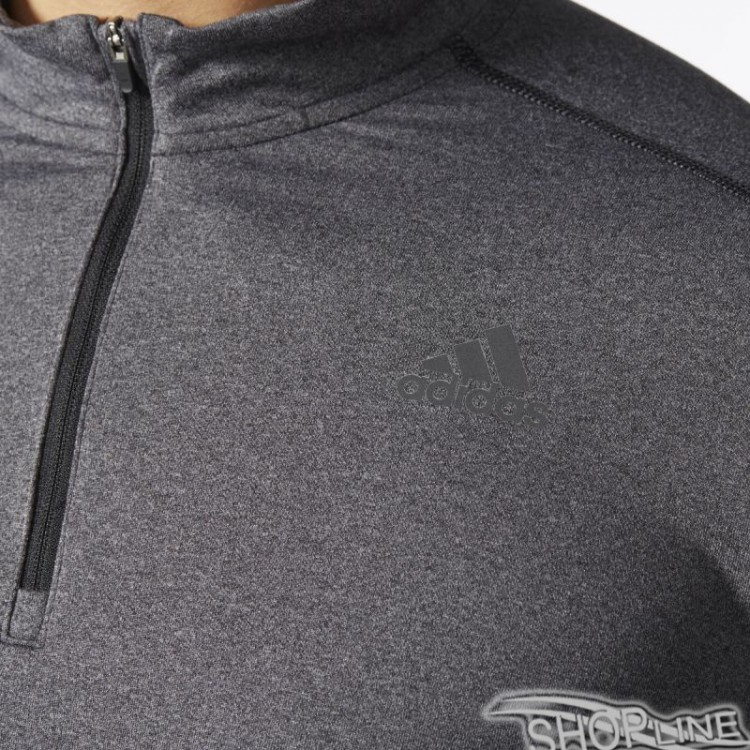 Tričko Adidas Response 1 2 Zip Long Sleeve Tee M - B47699  1ea67c531e4