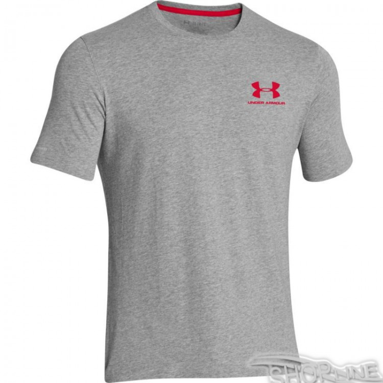 Tričko Under Armour Charged Cotton Sportstyle Left Chest Logo T-shirt - 1257616-090