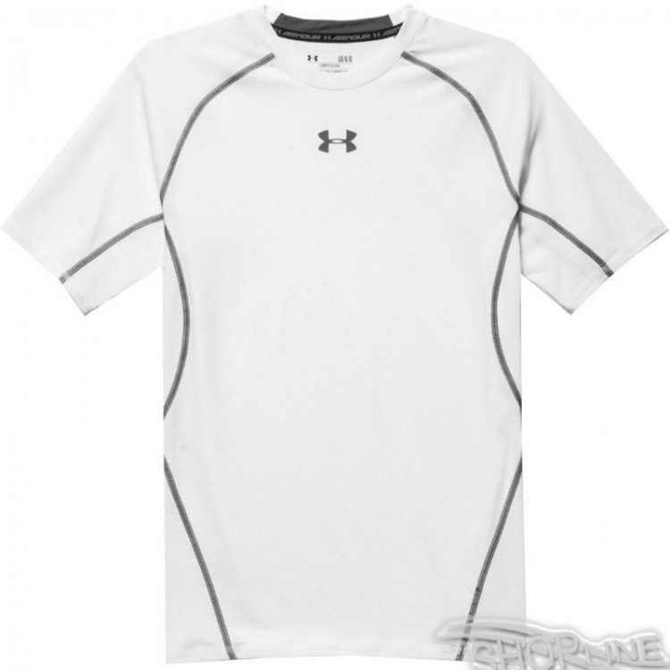 Tričko Under Armour HeatGear Compression Shortsleeve M - 1257468-100