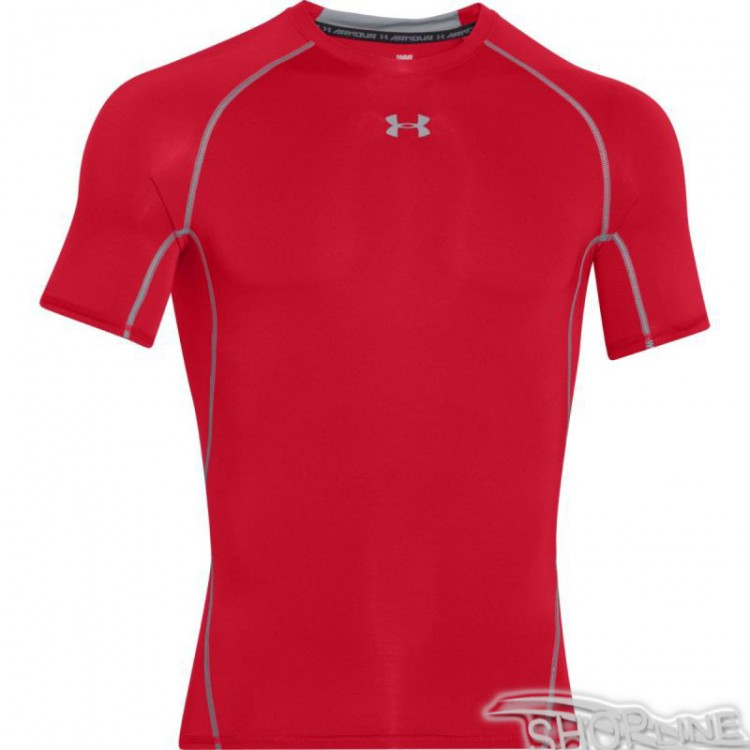 Tričko Under Armour HeatGear Compression Shortsleeve M - 1257468-600