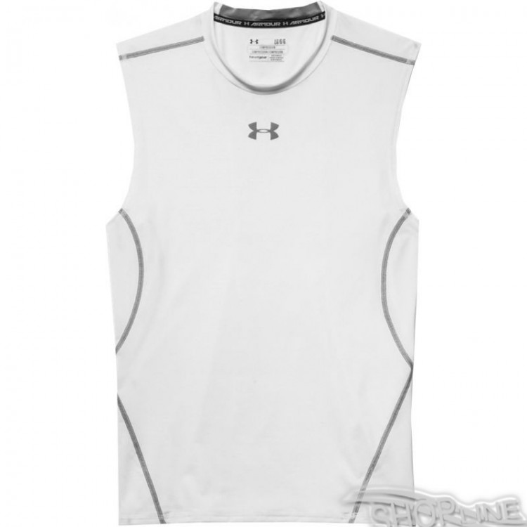 Tričko Under Armour HeatGear Compression Sleeveless - 1257469-100