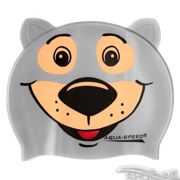 Kúpacia čiapka Aqua-Speed ZOO Bear Junior - 1036