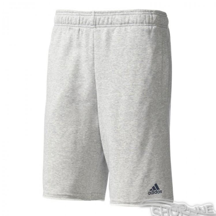 Kraťasy Adidas Essentials Raw Hem French Terry Short M - BK7459