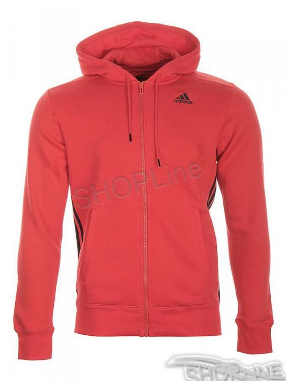 Mikina Adidas Ess Mid Fz Hood - AC0010