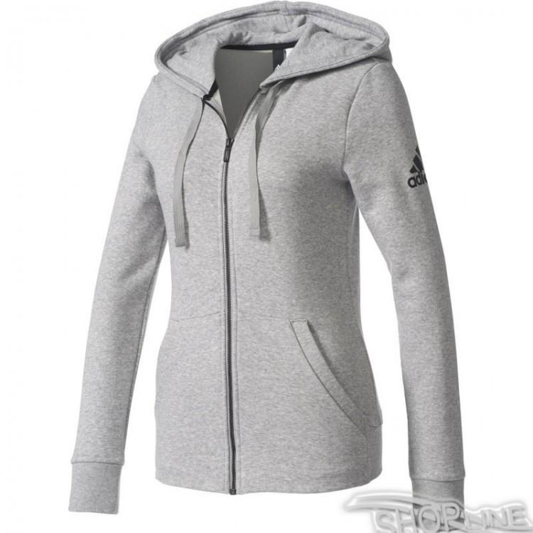 Mikina Adidas Essentials Solid Full Zip Hoodie W - S97086