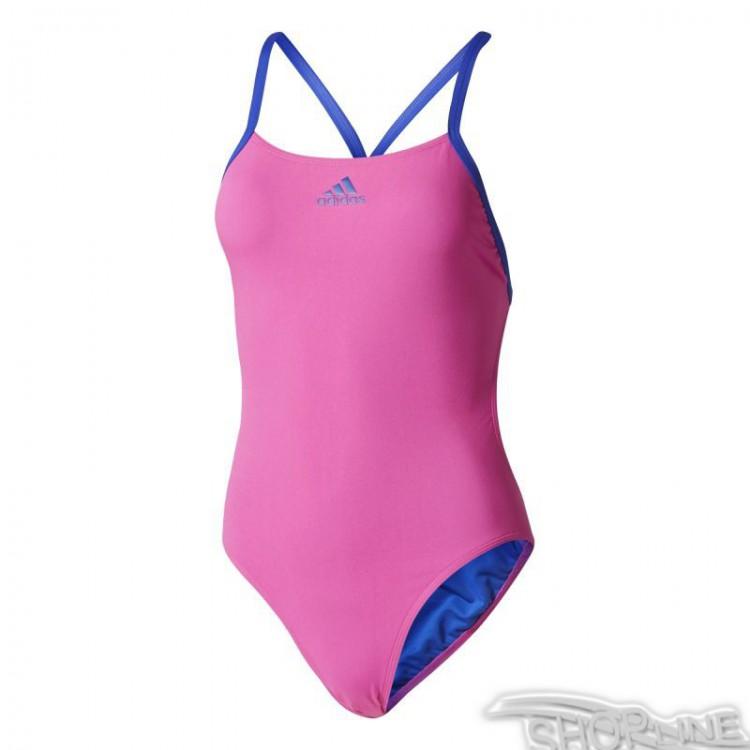 Plavky Adidas 3-Stripes Swimsuit Infinitex W - BP5300