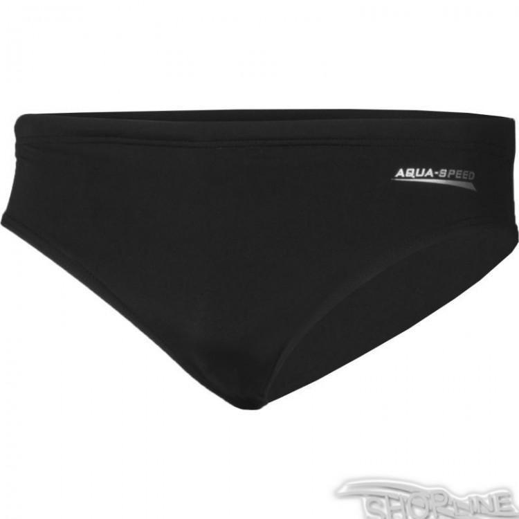Plavky Aqua-Speed Alan M 01 čierne - 1167-01