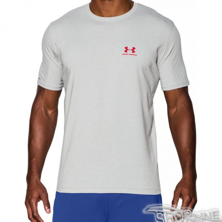 Tričko Under Armour Sportstyle Left Chest Logo T-Shirt M - 1257616-025