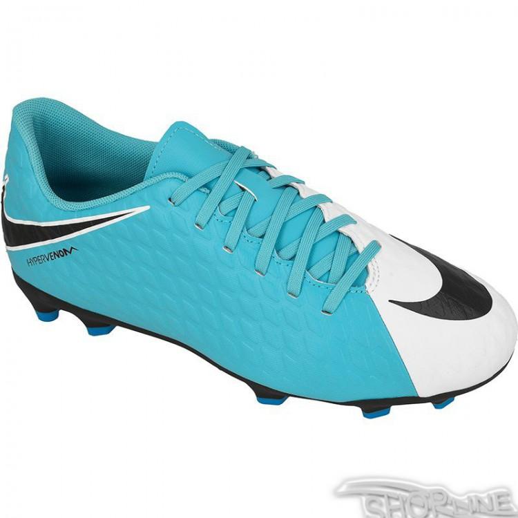 Kopačky Nike Hypervenom Phade III FG Jr - 852580-104