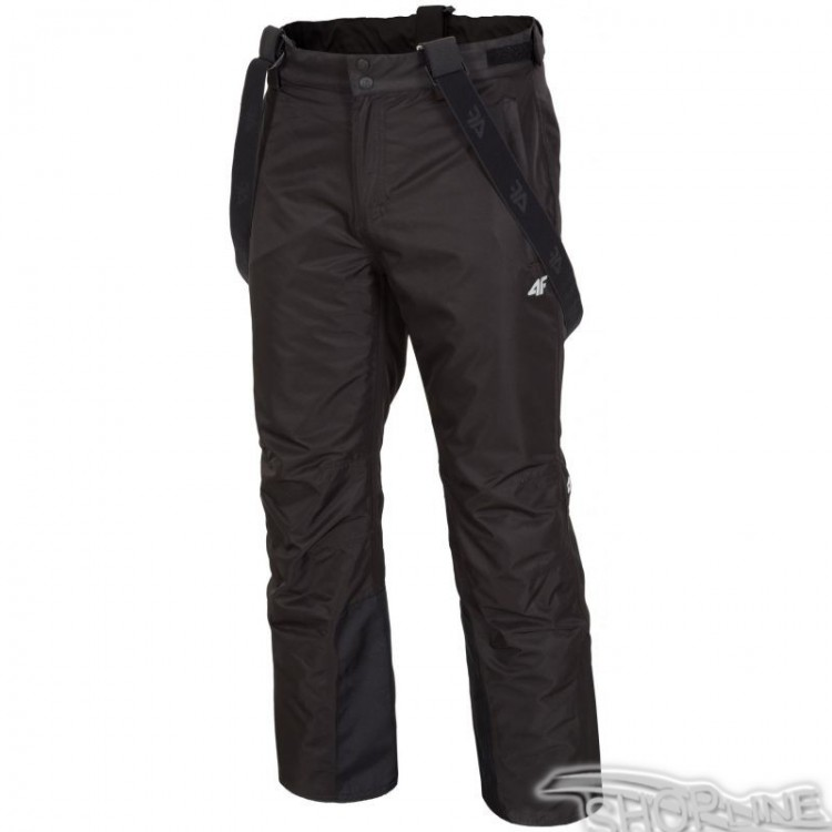 Lyžiarske nohavice 4f M - H4Z17-SPMN001-CZARNY