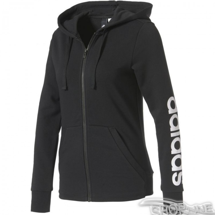Mikina Adidas Essentials Linear Full Zip Hoodie W - S97076