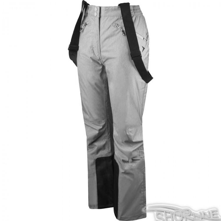 Lyžiarske nohavice Outhorn W - HOZ17-SPDN601-JASNY-SZARY-MELANZ