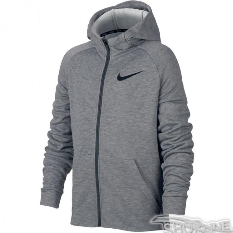 Mikina Nike Dry Hyper Fleece Full Zip Junior - 856135-091