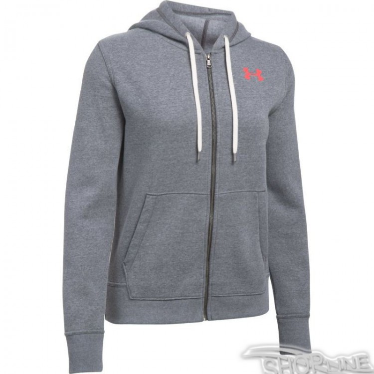Mikina Under Armour Favorite Fleece Full Zip W - 1298415-090