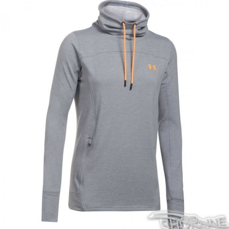 Mikina Under Armour Featherweight Fleece Slouch W - 1293020-026