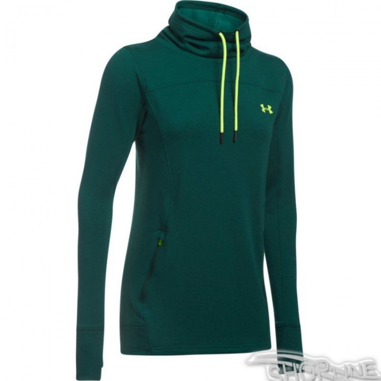 Mikina Under Armour Featherweight Fleece Slouch W - 1293020-919