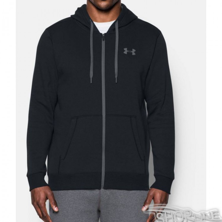 Mikina Under Armour Rival Fitted Full Zip Hoodie M - 1302290-001