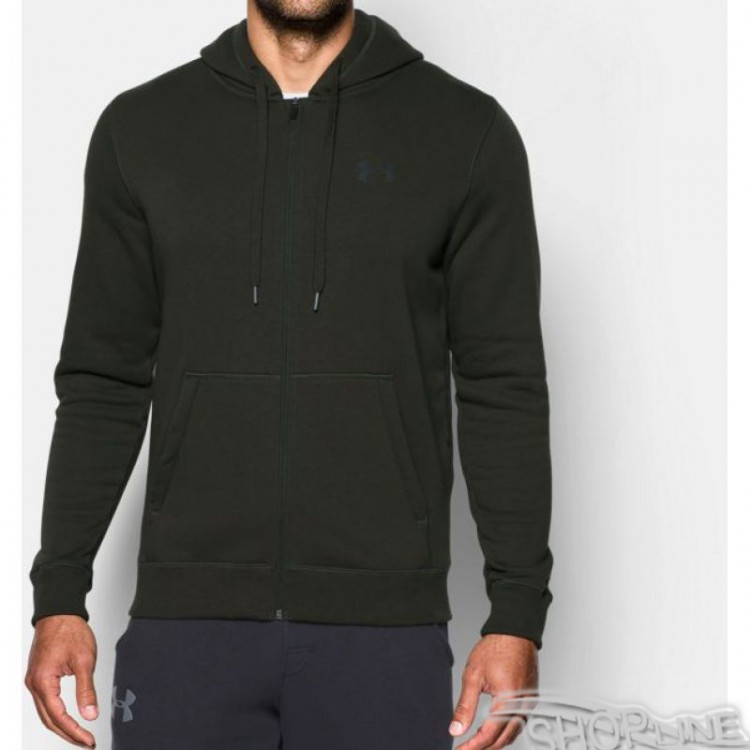 Mikina Under Armour Rival Fitted Full Zip Hoodie M - 1302290-357
