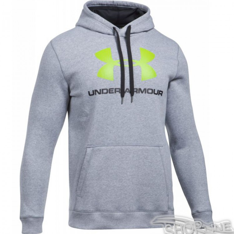 Mikina Under Armour Rival Fitted Graphic Hoodie M - 1302294-025