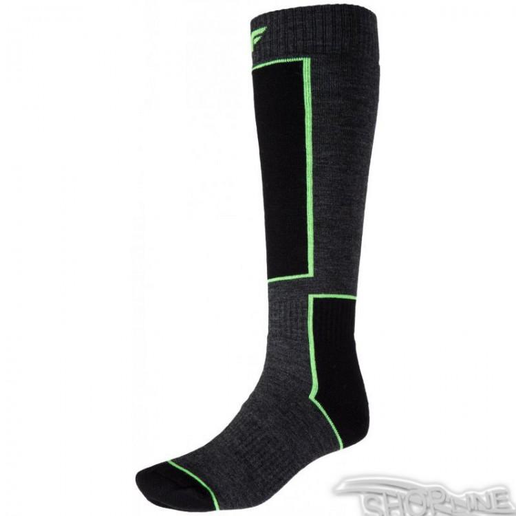 Termo ponožky 4f M - H4Z17-SOMN001-CIEMNY-SZARY-MELANZ  9c2bfc43da1