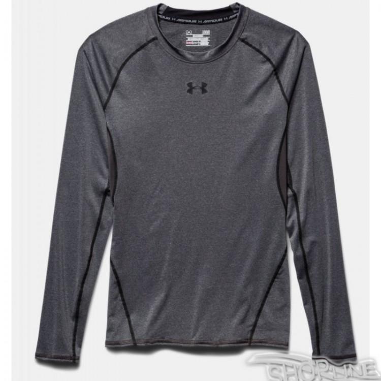 Tričko Under Armour HeatGear® Armour Long Sleeve Compression Shirt M 1257471-090 - 1257471-090