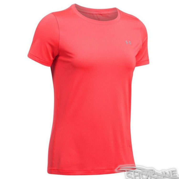 Tričko Under Armour HeatGear Short Sleeve W - 1285637-963