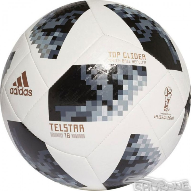 Lopta Adidas Telstar World Cup 2018 Russia Top Glider - CE8096