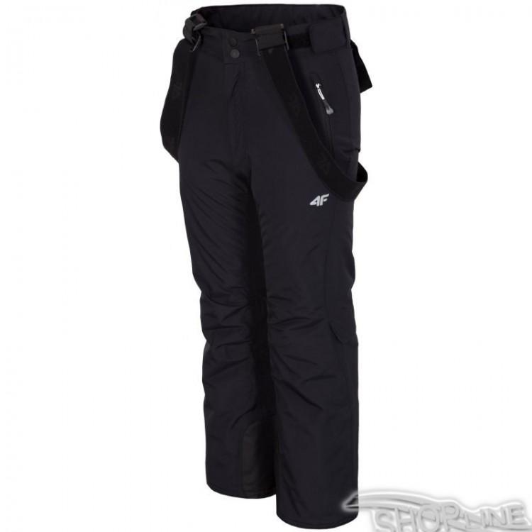 Lyžiarske nohavice 4f Junior - J4Z17-JSPMN300-CZARNY  63be1ead206