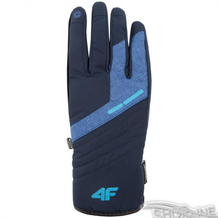 c588f3a84932 Lyžiarske rukavice 4f M - H4Z17-REM002-GRANAT-CIEMNY
