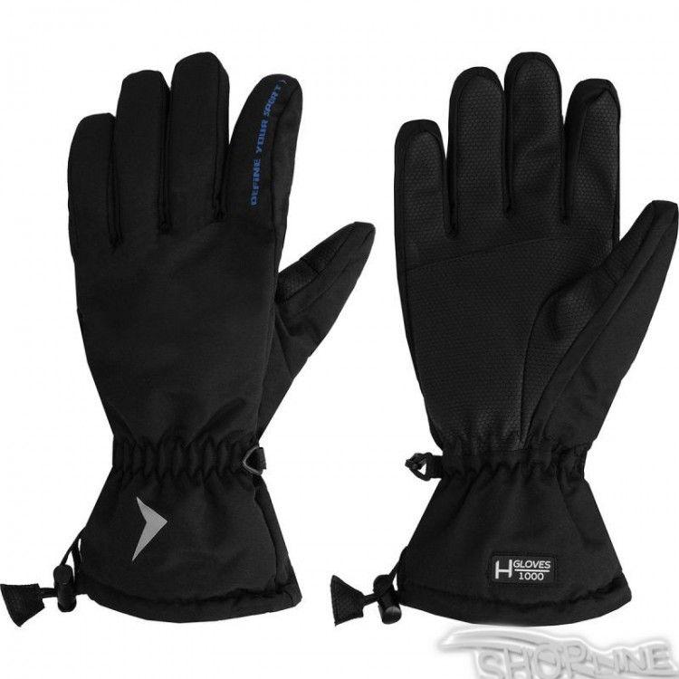 Lyžiarske rukavice Outhorn M - HOZ17-REM600-CZARNY