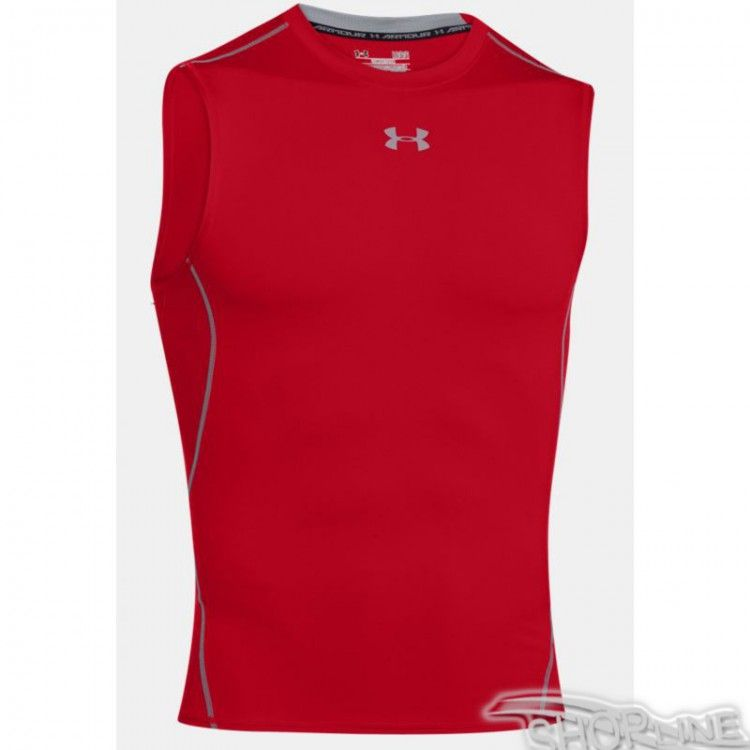 Tričko Under Armour HeatGear Compression Sleeveless - 1257469-600